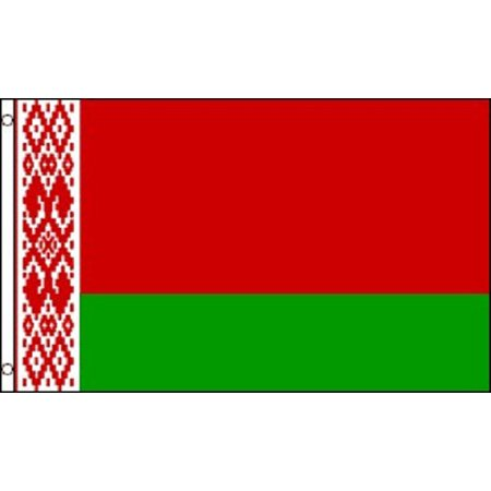 - 3x5 Belarus Flag Republic Banner Country Pennant