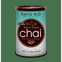 David Rio White Shark Chai, Powdered Tea, 14 Oz