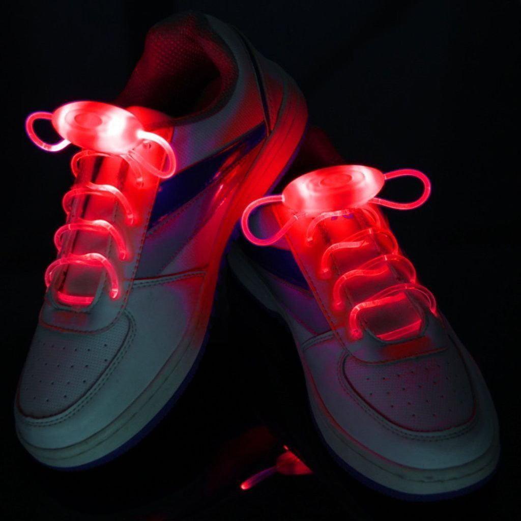 IClover LED Shoe Laces Light Up Glow