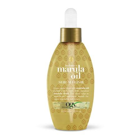 OGX® Hydrate + Marula Oil Serum Elixir w/dropper (Modern Elixirs Styling Serum)