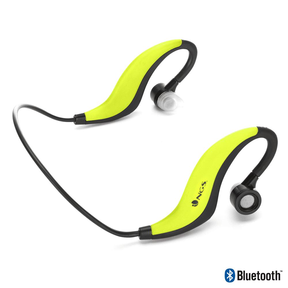 NGS Bluetooth Sports Earphones Artica Runner - Yellow