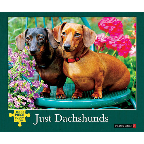 Just Dachshunds 1000 Piece Puzzle