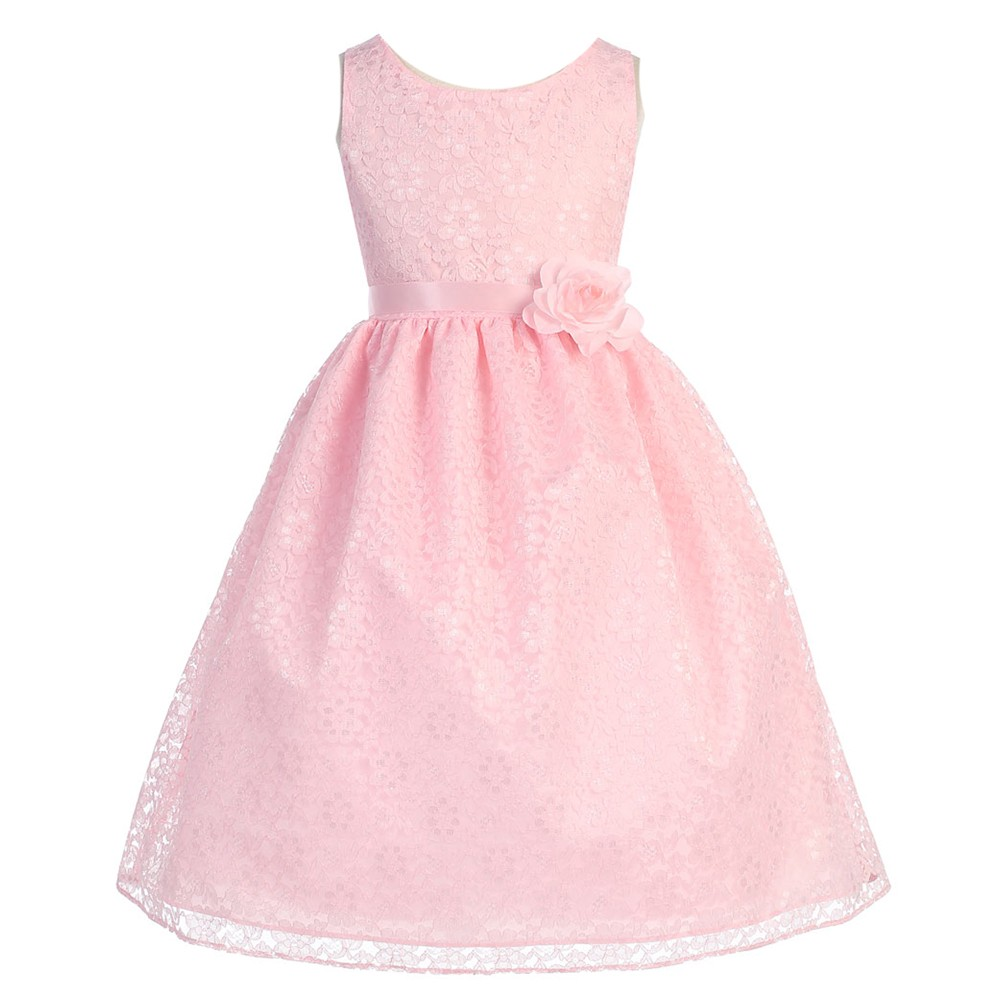 Pink Junior Bridesmaid Dresses 105