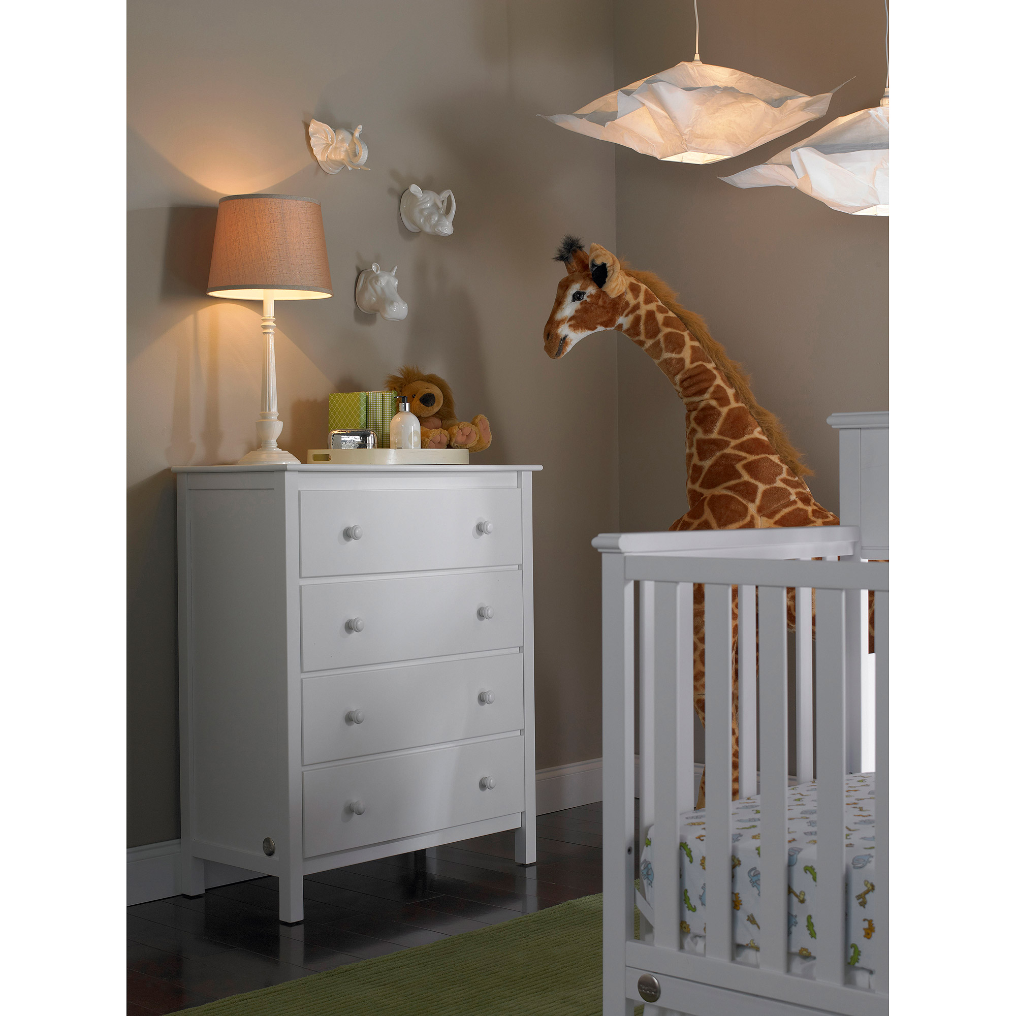 Fisher Price 4 Drawer Dresser Choose Your Finish Walmart