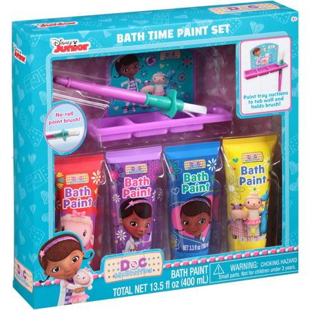 Disney Junior Doc Mcstuffins Bath Time Paint Set 6 Pc
