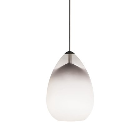 - Tech Lighting 700MOALIW Halogen Low-Voltage Alina MonoRail Pendant with White Hand-blown Venetian Teardrop Shaped Glass Shade