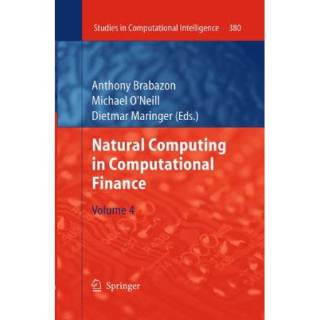 Natural Computing In Computational Finance  Volume 4
