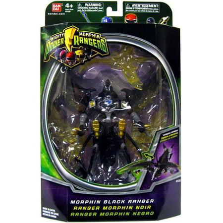 Power Rangers Black Ranger (Power Rangers Mighty Morphin Morphin Black Ranger Action)