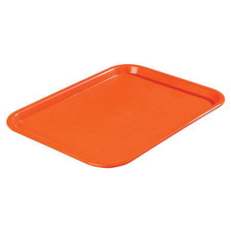 Cafeteria Tray - Orange - 14-in x 18-in Yellow Cafeteria Tray