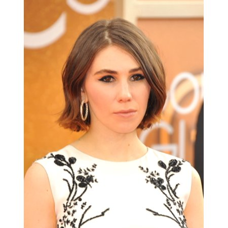 Zosia Mamet At Arrivals For 71St Golden Globes Awards   Arrivals 2 The Beverly Hilton Hotel Beverly Hills Ca January 12 2014 Photo By Linda Wheelereverett Collection Photo Print