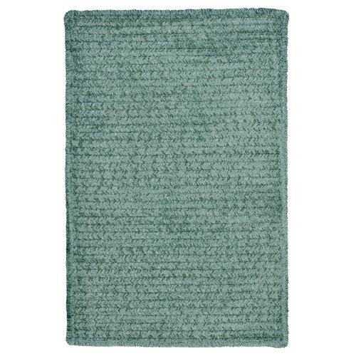 Colonial Mills Simple Chenille Myrtle Green Indoor/Outdoor Area Rug