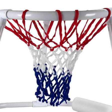 Swimline Super Hoops Floating Swimming Pool Basketball Game ...