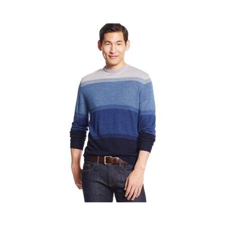 Club Room Mens Merino Wool Colorblock Pullover Sweater navyblue 3XLT - Big  & Tall