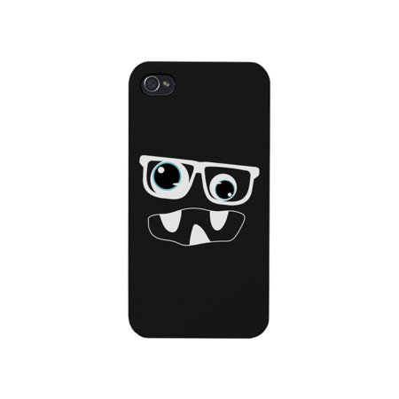 Monster With Glasses Phone Case Funny Halloween Theme Gift - Halloween Themed Gifts