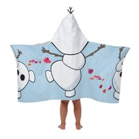 Disney Frozen 2 Olaf Bath Hooded Towel