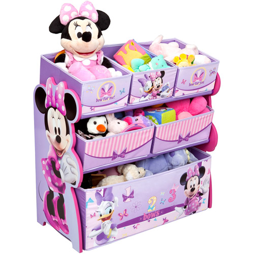 Disney Minnie Mouse Multi-Bin Toy Organizer by Delta Children