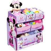Disney Minnie Mouse Multi Bin Toy Organizer By Delta Children