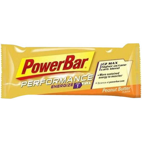 Powerbar Performance Energy Bar, Peanut Butter, 12 Ct