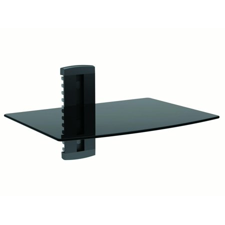 Single Shelf Wall Mount for TV Components, UL Certified