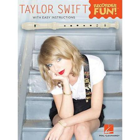 Taylor Swift - Recorder Fun! (Taylor Swift Halloween)