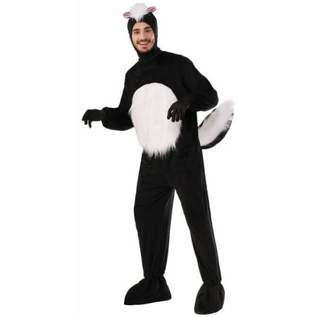Halloween Plush Skunk Adult Costume - Skunk Halloween Costumes