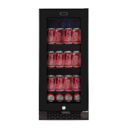 Whynter 15-inch 3.4 Cubic Foot Convertible Beverage Center