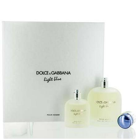 LIGHT BLUE POUR HOMME  D&G SET VALUE $134  Men