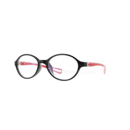 d38168799436b Eye Buy Express Kids Childrens Reading Glasses Red Black Oval Round Full  Frame Anti Glare grade sk9019 - Walmart.com