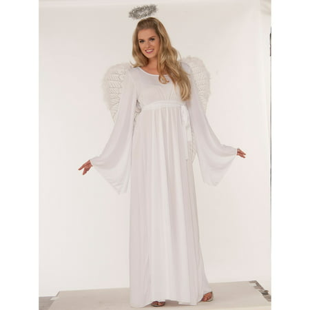 Womens Angel Costume - Cleaning Lady Costume