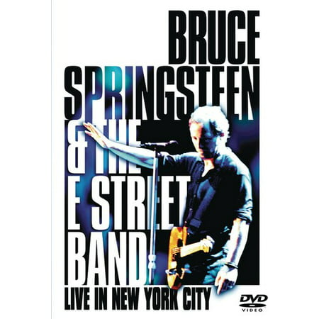 Bruce Springsteen & the E Street Band: Live in New York City (DVD) for $<!---->