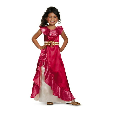 Disney Elena of Avalor Adventure Dress Classic Girls Costume](Easy To Dress Up Disney Characters)