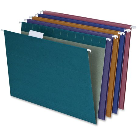 Assorted Hanging Folders (Pendaflex, PFX35117, Reinforced Hanging File Folders, 20 / Box,)