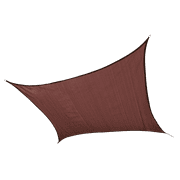 Shade Sail Square - Heavyweight 12 x 12 ft. Terracotta (Attachment point/pole not included)