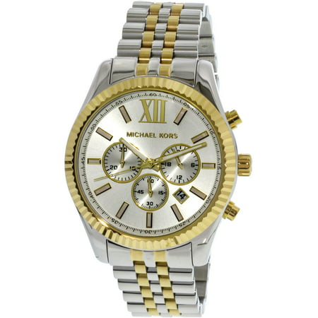 Men's Lexington Two Tone Stainless Steel Watch MK8344 (Michael Kors For Men Clothing)