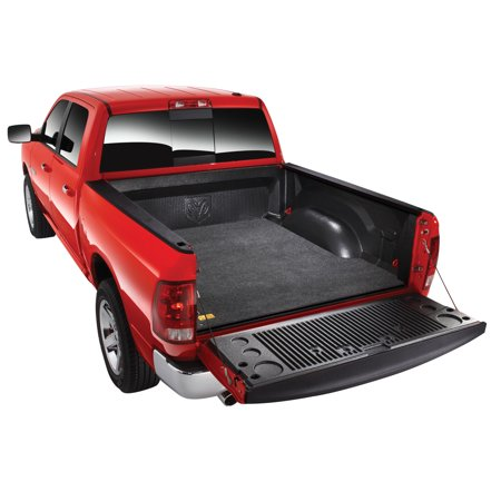 Bed Rug BMN05KCD Bed Mat  Direct-Fit; Without Raised Edges; Dark Gray; Carpet-Like Polypropylene; Tailgate Liner/ Mat Not Included; Works With Drop-In Bed Liners - image 2 de 2