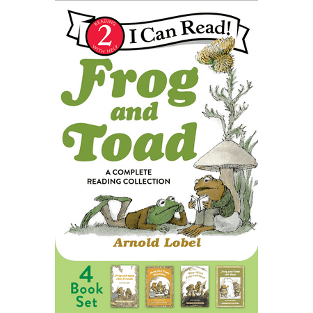 I Can Read!: Level 2: Frog and Toad: A Complete Reading Collection: Frog and Toad Are Friends, Frog and Toad Together, Days with Frog and Toad, Frog and Toad All Year (Paperback)