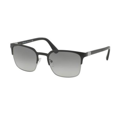 PRADA Sunglasses PR61SS 1BO3M1 Matte Black/Gunmetal 55MM