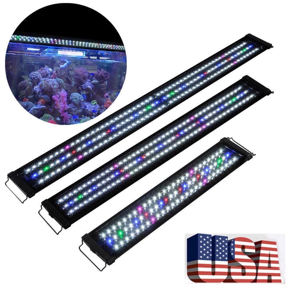 24 inch Aquarium LED Light Multi-Color Full Spectrum Plant Marine Tank GE by