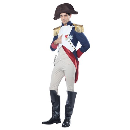Mens French Emperor Napoleon Halloween Costume](50th France Halloween)