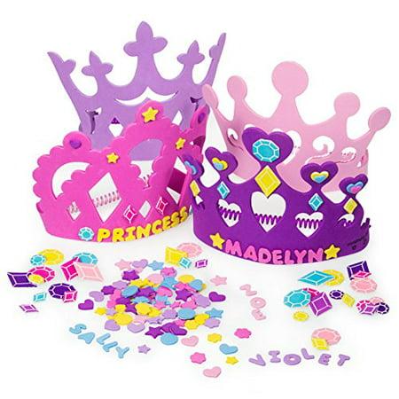 Fun Express Princess Tiara Crown Craft Kits (Wholesale Princess Crowns)
