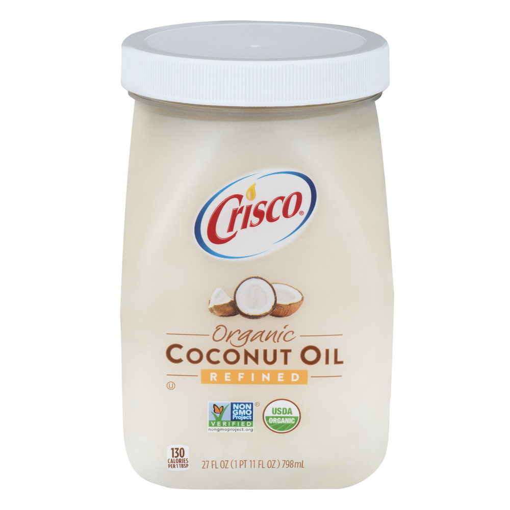 Crisco Organic Refined Coconut Oil, 27.0 FL OZ