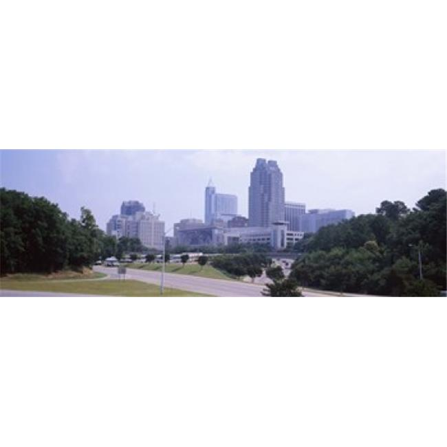 Panoramic Images PPI143901L Street scene with buildings in a city  Raleigh  Wake County  North Carolina  USA Poster Print by Panoramic Images - 36 x 12 - image 1 of 1