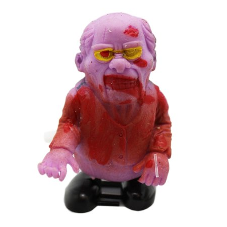 Blood Covered Violet Colored Zombie Windup Toy - By