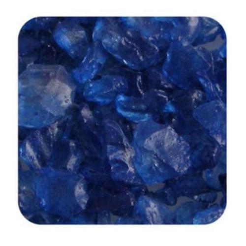 Sandtastik Ice10Lbblu Sandtastik Ice Real Glass Gems  Table Scatters & Vase Filler Blue - 10 Lb