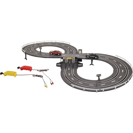Educo Track (Kid Connection 37-Piece Road Racing Track Play Set, Battery Operated)