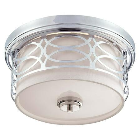 Nuvo Lighting  60/4627  Ceiling Fixtures  Harlow  Indoor Lighting  Flush Mount  ;Polished Nickel