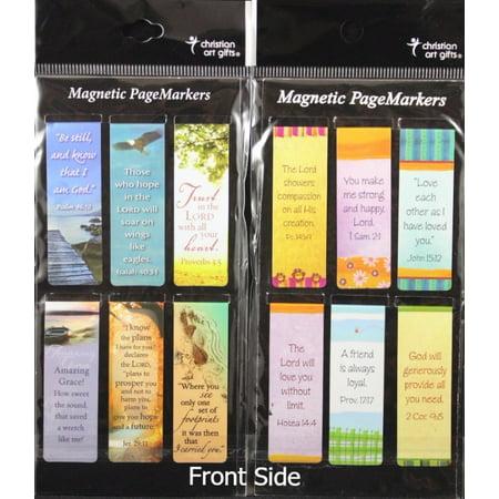Beautiful Magnetic Bookmarks 2 Set