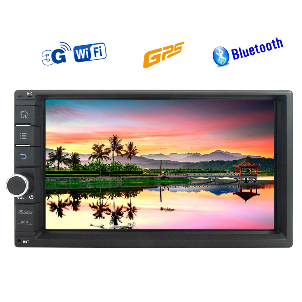 7'' Android 6.0 Car Stereo Double DIN Universal Size fits...