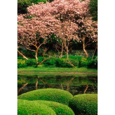 Reflecting Pond Imperial Palace East Gardens Tokyo Japan Canvas Art   Jaynes Gallery  Danitadelimont  18 X 26