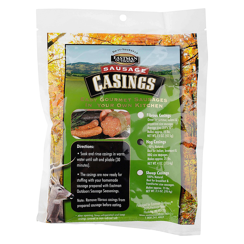Eastman Outdoors, DIY Premium Hog Sausage Casings - Walmart com